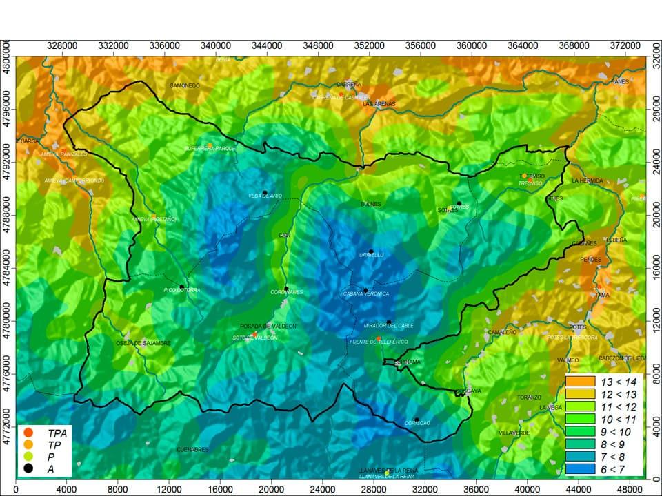 heatmap picos de europa
