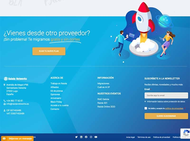 footer web