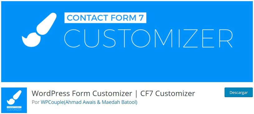 wordpress-form-customizer
