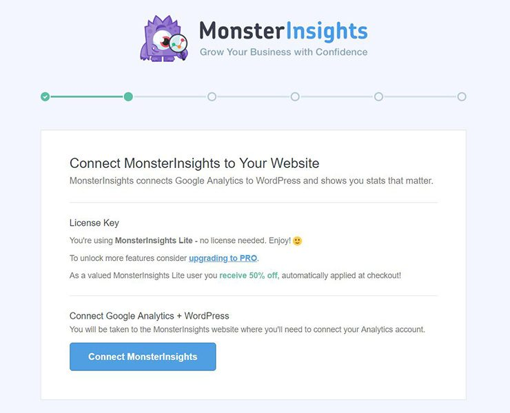 monsterinsights-conectar-con-analytics