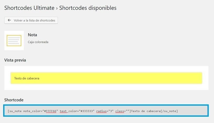 ultimate-shortcode-nota
