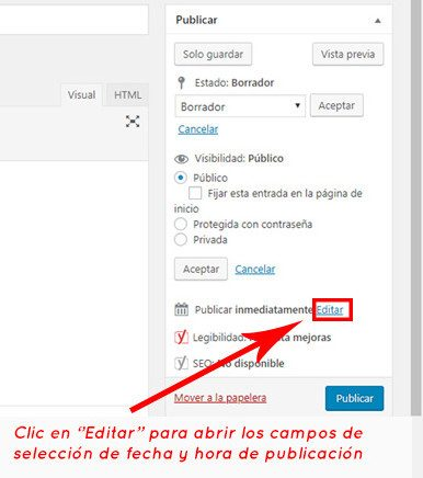 Publicacion WordPress