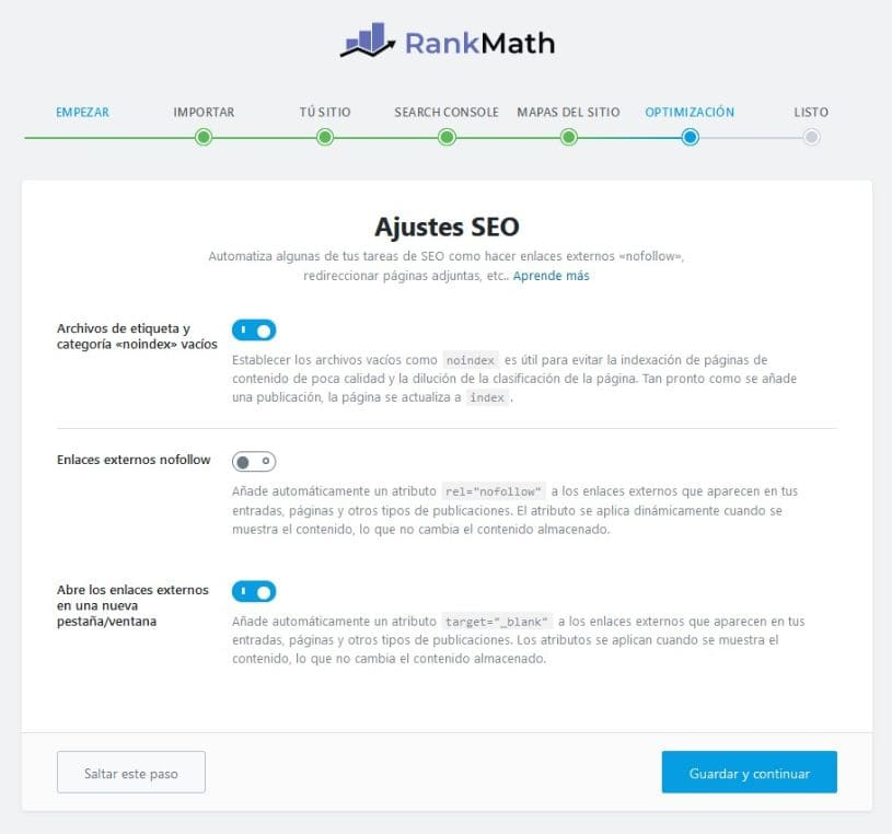Optimizacion Rank Math