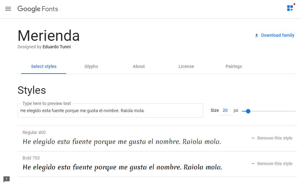 Cómo descargar Google Fonts