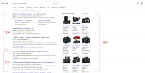Las diferencias entre SEO y SEM en el buscador