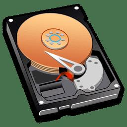 configuración discos