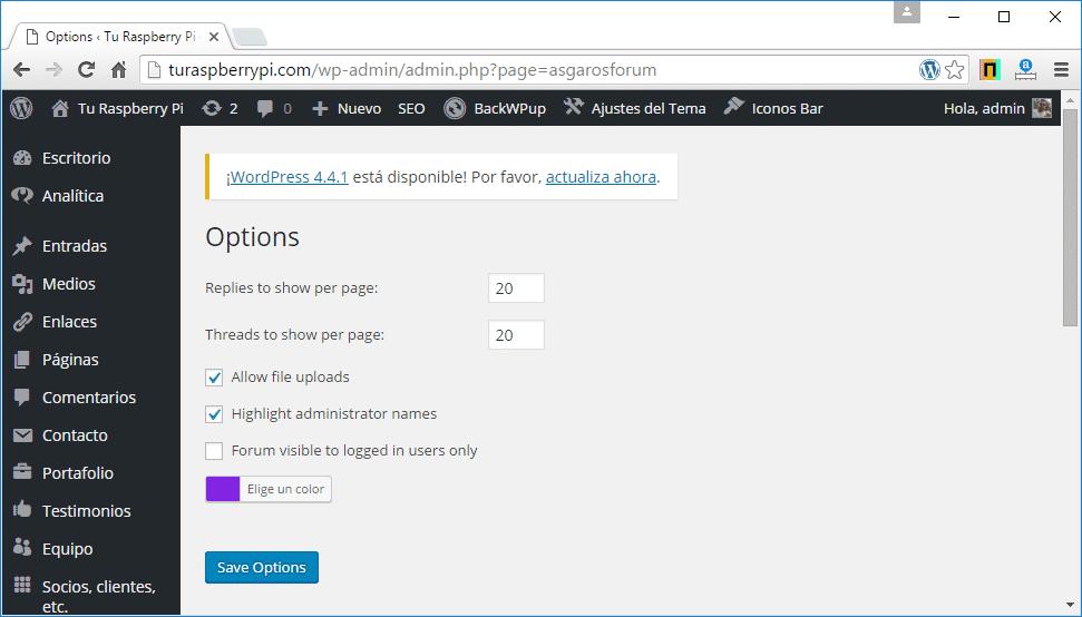 crear foro wordpress