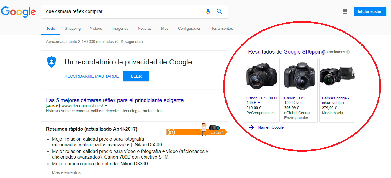 google shopping prestashop