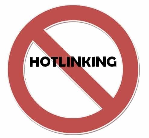 hotlinking wordpress