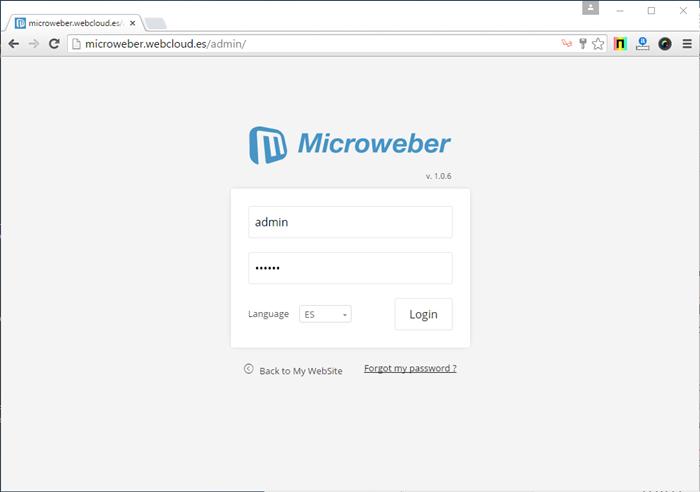 microweber cms
