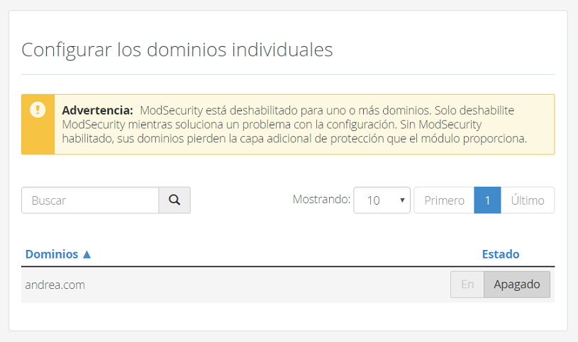 modsecurity-desactivar