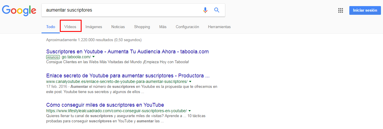 seo en youtube 2016