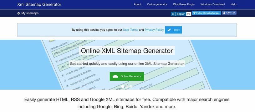 cómo crear un sitemap
