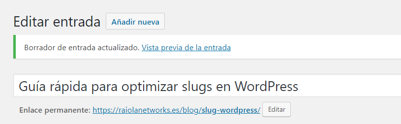slug wordpress ejemplo