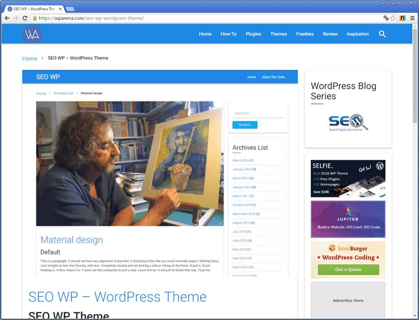 theme wordpress seo