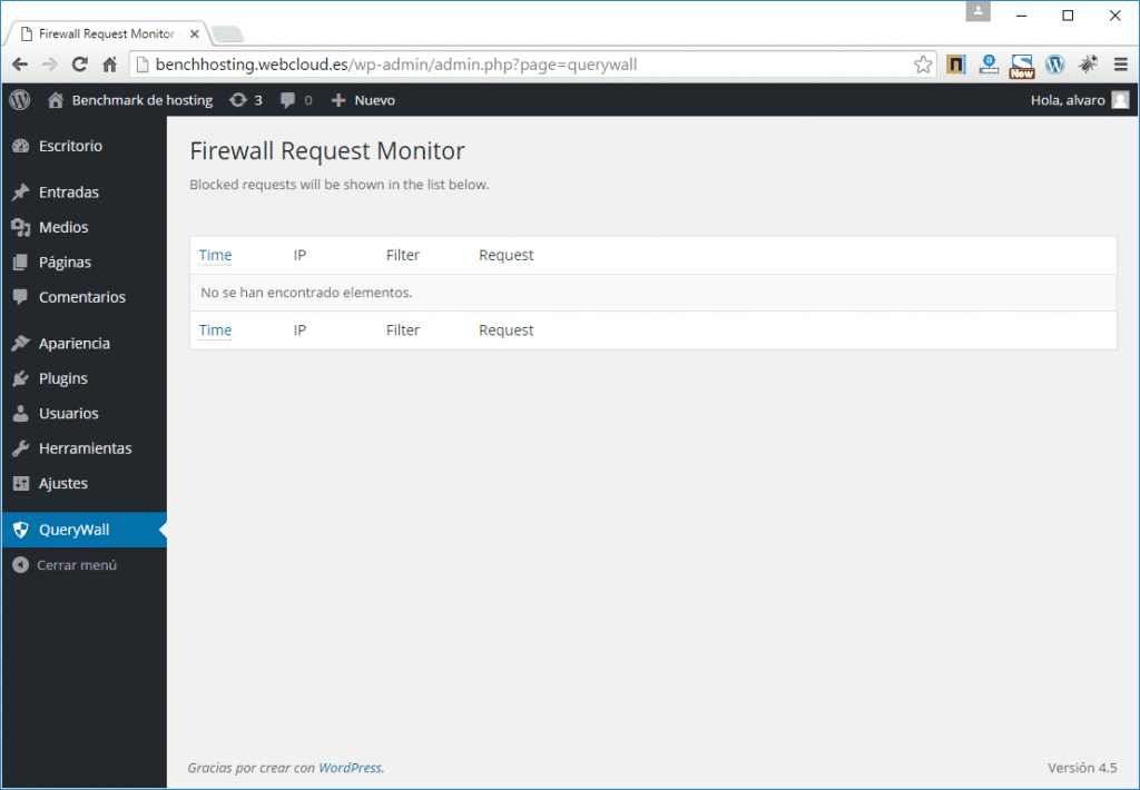 firewall wordpress